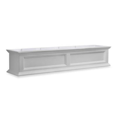 Mayne Fairfield 5-Foot Window Box in White