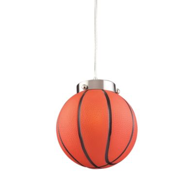 ELK Lighting 1-Light Basketball Pendant