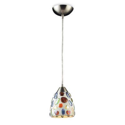 ELK Lighting 1-Light Gemstone Pendant