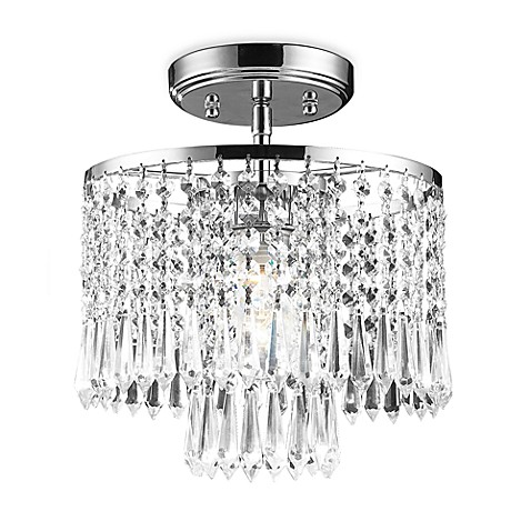 ELK Lighting Optix One-Light Semi-Flush Chandelier