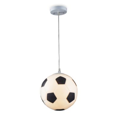 ELK Lighting 1-Light Soccer Ball Pendant