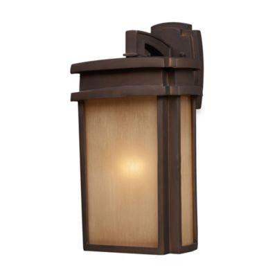 ELK Lighting Sedona 1-Light 9-Inch W Outdoor Sconce