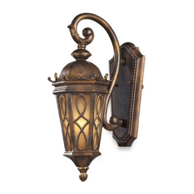 ELK Lighting Burlington Junction One-Light 7-Inch Outdoor Sconce