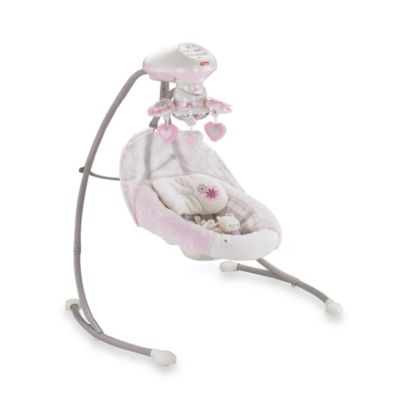 Fisher-Price® My Little Sweetie Deluxe Cradle Swing