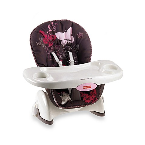 Fisher-Price® Space Saver High Chair in Mocha Butterfly