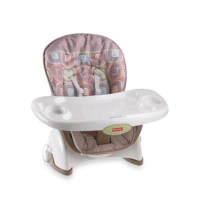 Fisher-Price® Space Saver High Chair in Coco Sorbet - from Fisher Price