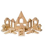Guidecraft Kindergarten Unit Blocks in 76 Pieces