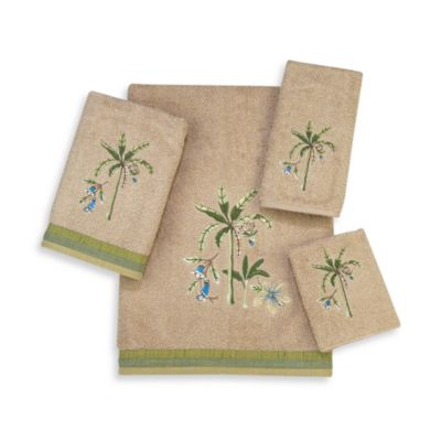 Avanti Premier Catesby Fingertip Towel in Linen
