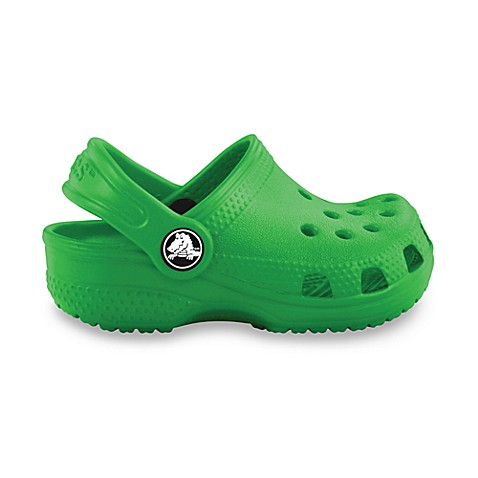Crocs™ Kids-Foot Size 2-3 Classic in Lime