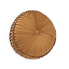 Croscill Burgess Smocked Tambourine Toss Pillow