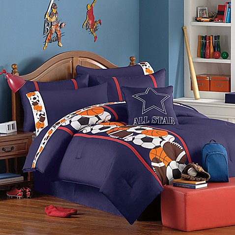 Owen Sports Theme Comforter Super Set