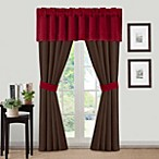 Loreto Window Valance in Red