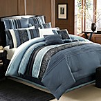 Manor Hill® Cleo Sapphire Complete Bed Ensemble