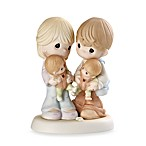 Precious Moments® Parents with Twins Porcelain Figurine