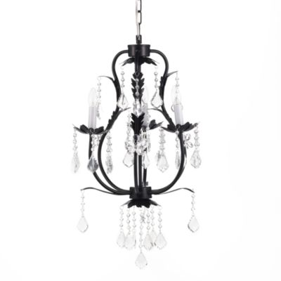 CoCaLo™ 3-Light Chandelier in Black