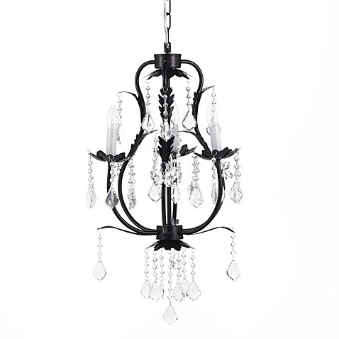 CoCaLo® 3-Light Chandelier in Black