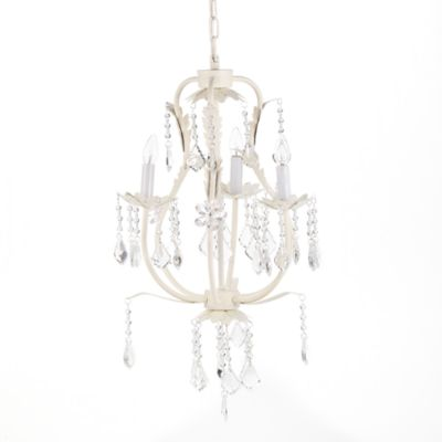 CoCaLo® 3-Light Chandelier in Ivory