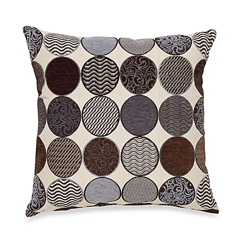 Spectator 20-Inch Square Decorative Toss Pillow