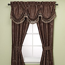 Croscill Persia 84-Inch Window Curtain Panel Pair