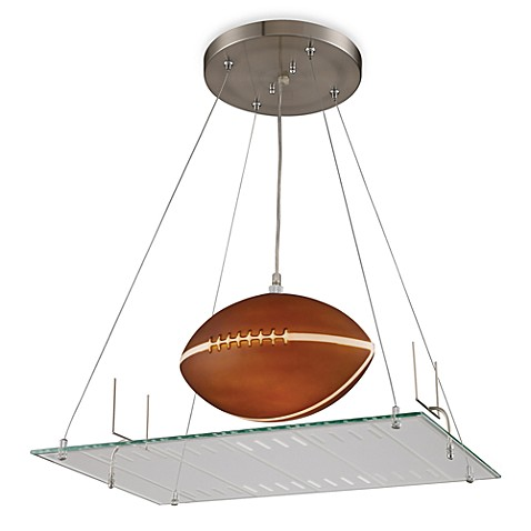 ELK Lighting 1-Light Football Field Pendant Light Fixture