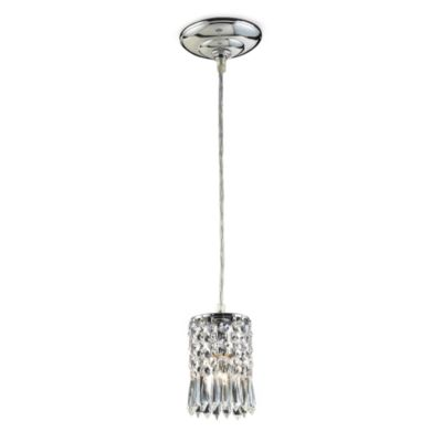 ELK Lighting 1-Light Pendant in Polished Chrome