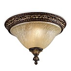 ELK Lighting Trump Home™ Regency Collection 2-Light Flush Mount Light Fixture in Burnt Bronze