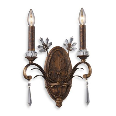 ELK Lighting Emilion 2-Light Sconce in Burnt Bronze