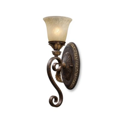 ELK Lighting Trump Home™ Regency 1-Light Wall Sconce in Burnt Bronze