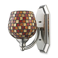ELK Lighting 1-Light Vanity in Satin Nickel