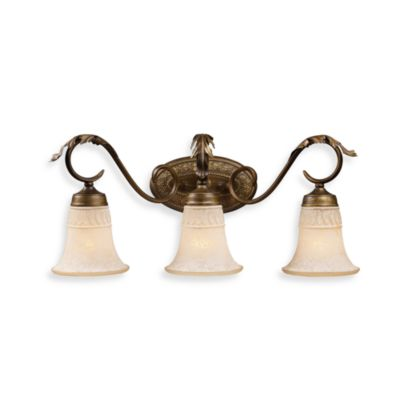 ELK Lighting Trump Home™ Briarcliff 3-Light Bar in Weathered Umber