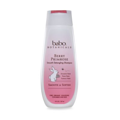 babo botanicals™ Berry Primrose 8-Ounce Smoothing and Detangling Shampoo