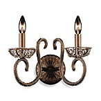 ELK Lighting Elizabethan 2-Light Wall Bracket in Dark Bronze