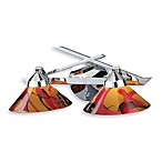 ELK Lighting Refraction 2-Light Wall Bracket in Polished Chrome
