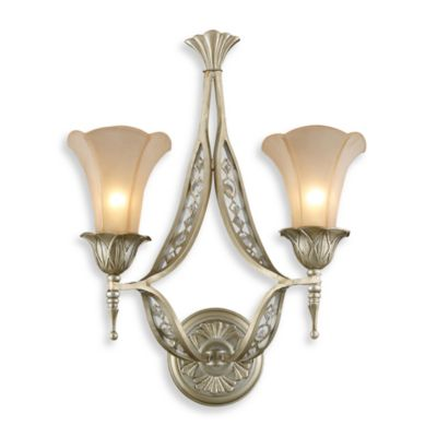 ELK Lighting Chelsea 2-Light Wall Bracket with Embedded Crystal