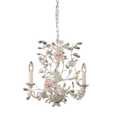 ELK Lighting Heritage 3-Light Chandelier in Cream