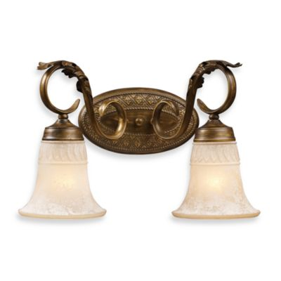 ELK Lighting Trump Home™ Briarcliff 2-Light Vanity In A Weathered Umber Finish