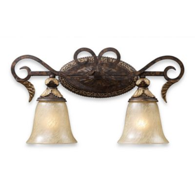 ELK Lighting 2-Light Vanity in Burnt Bronze