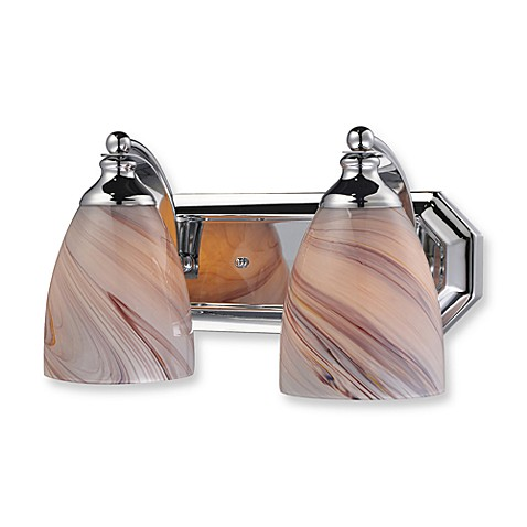 ELK Lighting Vanity Series 2-Light Vanity in Polished Chrome