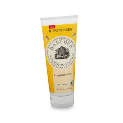 Burt's Bees® Fragrance Free 6 oz. Baby Lotion