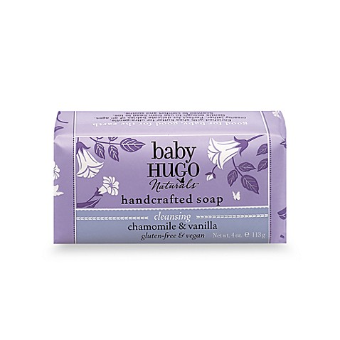 Hugo Naturals™ Baby Skincare and Haircare Products - Shea Chamomile Soap (4 Ounces)