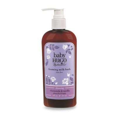 > > Hugo Naturals™ Baby Skincare and Haircare Products - Foam Milk Bath (8 Ounces)
