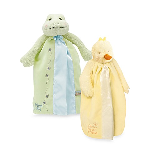 Bunnies by the Bay Frog/Duck Buddy Blanket