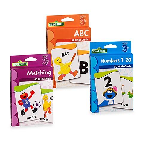 Sesame Street®  Flash Cards