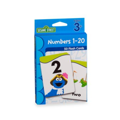 Sesame Street® Flash Cards in 123