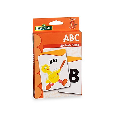Sesame Street®  Flash Cards in ABC