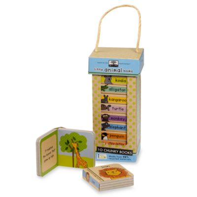Green Start® Book Tower in Animals