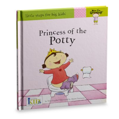 Now I'm Growing! Princess of the Potty in Little Steps for Big Kids Potty Training Book