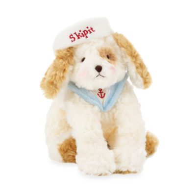 Bunnies by the Bay Plush Animals in Skipit White Doggie