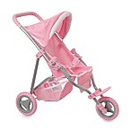 Corelle 3-Wheel Doll Stroller