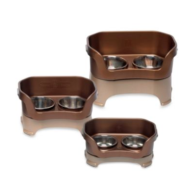 Neater Feeder® Bronze Mess-Proof Medium Pet Bowl
